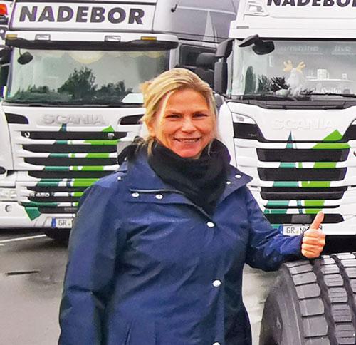 Nancy Nadebor, Geschäftsführerin