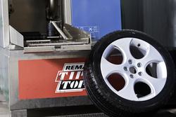 sauberer Reifen