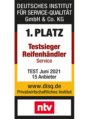 Testieger Reifenhaendler Service 2021