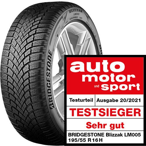 Bridgestone Blizzak LM005 Reifentest 2021